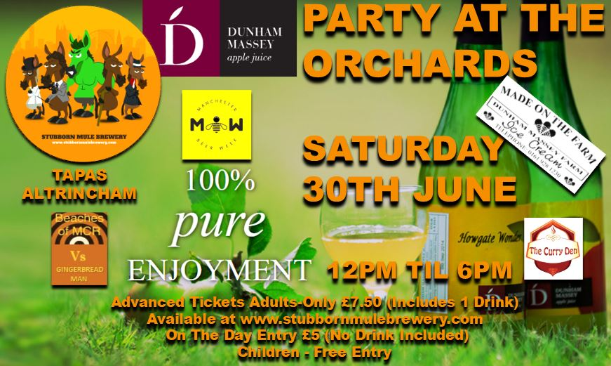 Manchester Beer Week – Party At The Orchard