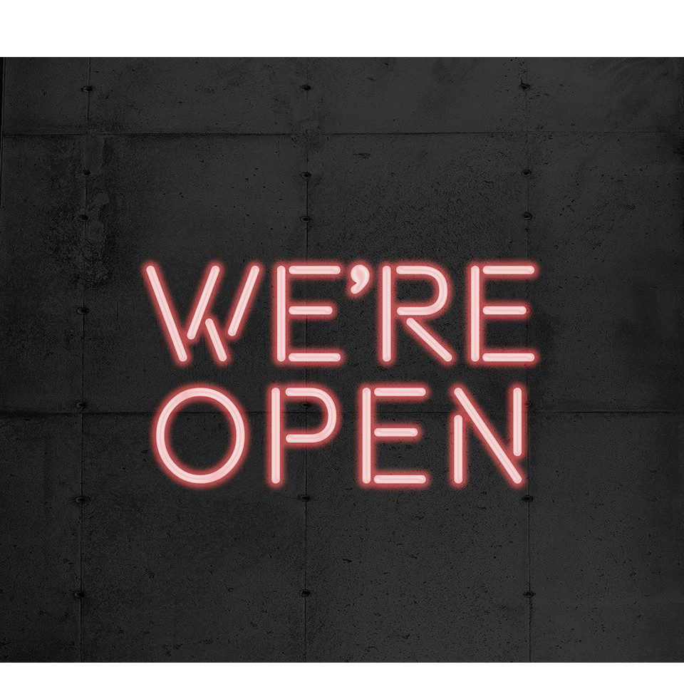 We're Still Open…Mostly.